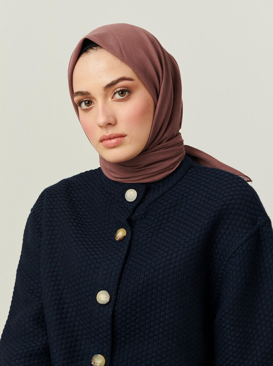 Cotton Scarf Berry
