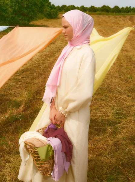 Cotton Voile Shawl Candy - Thumbnail