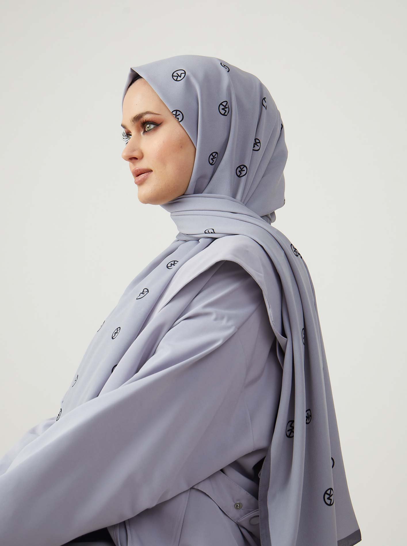 Silver Series Mk Patterned Shawl