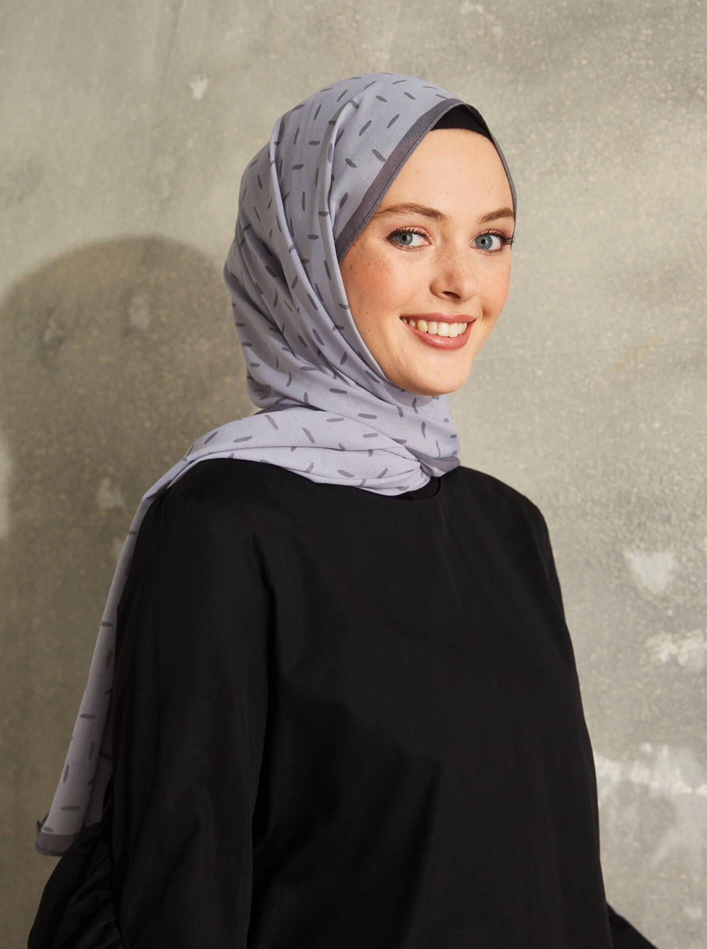 Touch Medina Silk Pure Patterned Grey